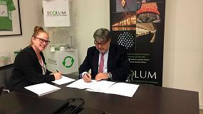 Foto de La Fundación Ecolum firma un acuerdo de colaboración con el Gremi de Recuperació de Catalunya