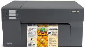 Foto de La tinta pigmentada ya está disponible para la impresora de etiquetas a color LX910e de Primera