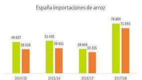 Foto de La producción de arroz crece un 3.6%
