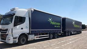 Foto de Palletways Iberia suma un nuevo megacamión para su ruta entre Córdoba y Madrid