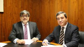 Foto de Aecim y Recyclia firman un acuerdo marco para facilitar a las empresas la gestión de residuos eléctricos, electrónicos y pilas