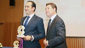 Foto de Moisés Serrano e Hijos, Concesionario Linde para Toledo, Premio Cope por 25 años de trayectoria