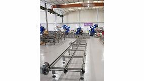 Foto de AiCrov inicia la segunda fase del proyecto de una planta robotizada para el llenado de derivados del propileno