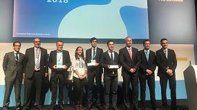 Foto de Sofrel Lacroix, Contazara y Socamex, ganadores de los Premios Iwater 2018