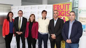 Foto de Una cincuentena de productores asiste al evento de Fruit Logitica en Valencia