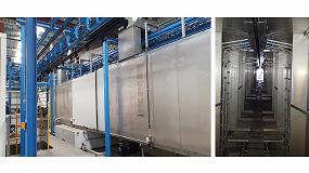 Foto de Geinsa instala una línea de tratamiento de superficie para el pintor industrial ASMR (Francia)