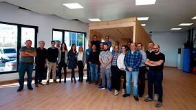 Foto de El Servicio Navarro de Empleo y Onhaus forman a los carpinteros de Navarra en Edificios de Consumo Casi Nulo