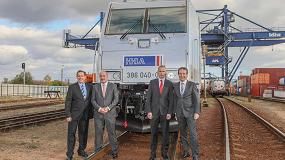 Foto de Bombardier concluye la entrega de su 40ª locomotora a Metrans (República Checa)