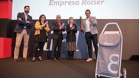 Foto de Rolser recibe el Premio Alfil 2018 en la categoría Marketing y Comunicación