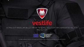 Foto de Vestlife, nueva solución de protección balística para soldados de a pie