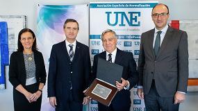 Foto de UNE, socio de honor de Afec