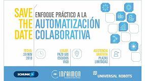 Foto de Schunk, Infaimon y Universal Robots organizan en Vigo una jornada sobre automatización colaborativa y visión artificial
