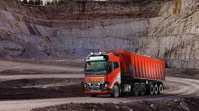 Foto de Volvo Trucks proporciona una solución de transporte autónoma a Brønnøy Kalk AS