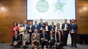 Foto de Alfil Logistics, Chep, DHL Supply Chain, Lidl, Nestlé y Unilever reciben la Estrella Lean&Green