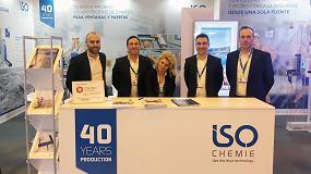 Foto de ISO-Chemie consolida en Veteco su papel de referencia en soluciones para instalación de ventanas