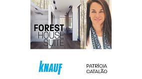 Foto de Knauf colabora con la arquitecta Patricia Catalao para crear 'Forest House'