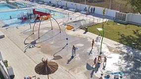 Foto de Vortex transforma unas piscinas en desuso en un parque acuático