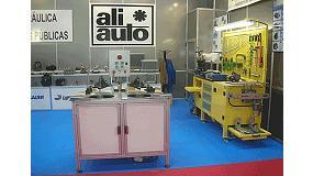 Fotografia de Aliauto va estar com a expositor a SMOPYC 2008