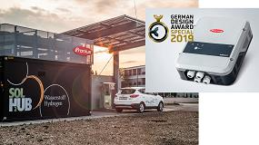 Foto de Fronius recibe el German Design Award y Premio Nacional Austriaco de Tecnología Medioambiental y Energía
