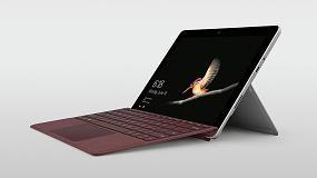 Foto de Surface Go, el mejor dispositivo para impulsar a los profesionales de la Industria 4.0