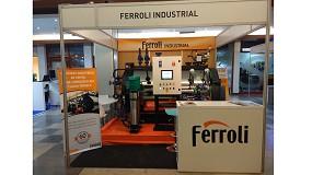 Foto de Ferroli partició en EMAF, Feria Internacional de Máquinas, Equipos y Servicios para la industria