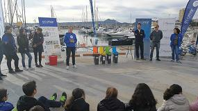 Foto de La Fundación Ecomar y PlasticsEurope enseñan a niños alicantinos cómo actuar frente al littering