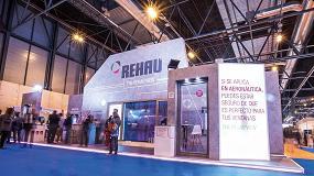Foto de Rehau muestra en Veteco sus nuevas aplicaciones inteligentes en ventanas