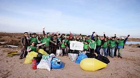 Foto de El Voluntariado Verde de Cicloplast organiza una actividad de sensibilización ambiental