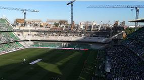 Foto de Ulma participa en el proyecto de construcción del nuevo graderío en el Estadio Villamarín.