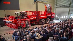 Foto de Grimme acerca un centenar de máquinas a clientes y distribuidores