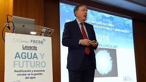 Foto de Fernando Morcillo explica las claves de la contribución del sector del agua urbana a la economía circular