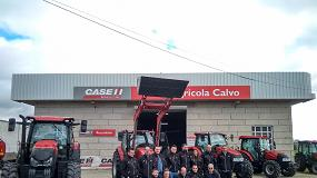Foto de Agrícola Calvo se convierte en concesionario oficial de Case IH en Orense