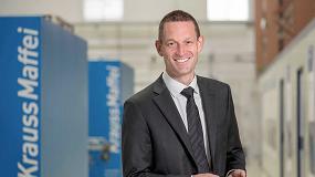 Foto de KraussMaffei nombra a Tobias Daniel como nuevo vicepresidente de ventas globales de inyectoras