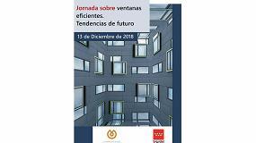 Foto de Próxima celebración de la Jornada 'Ventanas eficientes, tendencias de futuro'