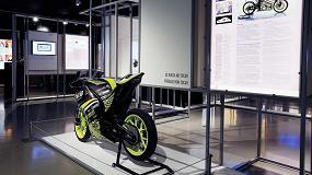Foto de La moto impresa en 3D de Aitiip, en la exposición 'Ciencia y tecnología en democracia: 1978 - 2018'