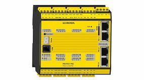 Foto de Schmersal lanza el control de seguridad Protect PSC1 con servidor OPC UA integrado
