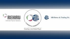 Foto de Rehau y MB Barter & Trading se alían para crear una nueva y más eficiente compañía