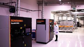 Foto de Renishaw suministra a Sandvik Additive Manufacturing un equipo RenAM 500Q