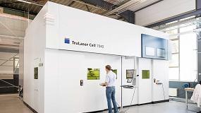 Foto de Trumpf mejora la productividad y la calidad del sistema láser 3D TruLaser Cell 7040