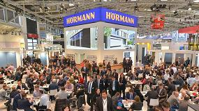 Foto de Hörmann presenta en BAU su nueva gama de productos en un stand de mayor superficie