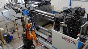 Foto de MB Spritzgusstechnik adquiere una segunda máquina Bipower VH2700 con automatización