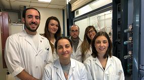 Foto de Un grupo del Instituto de Síntesis Química y Catálisis Homogénea trabaja con moléculas orgánicas para hacer fármacos