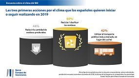 Foto de Los españoles, dispuestos a adoptar resoluciones en favor del clima en 2019