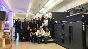 Foto de Printhaus amplía su catálogo de servicios con la instalación de una prensa digital HP Indigo 12000