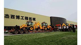Fotografia de JCB dóna 600.000 $ en maquinària per pal·liar els danys del terratrèmol de la Xina