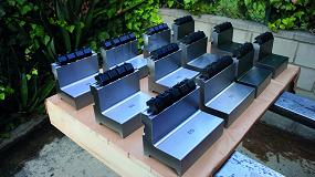 Foto de Metalmaq fabrica un lote de 15 punzones con sus bridas para paneladora Trumpf