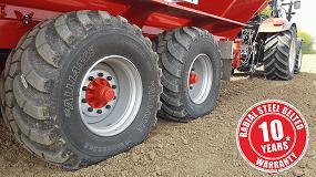 Foto de ATG amplía la garantía de sus neumáticos agrícolas