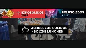 Foto de Polusolidos 2019 organiza el espacio 'almuerzos sólidos'