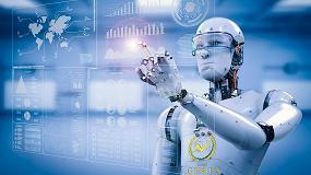 Foto de GeniusBot, un robot que ayuda a los estudiantes