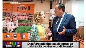Foto de Ferroli, en el programa de TV 'Hecho en Castilla y León'